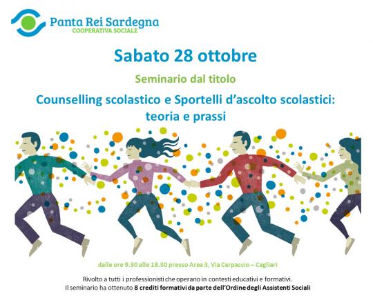 """Seminario """"Counselling scolastico e sportelli d'ascolto scolastici: teoria e prassi"""""""