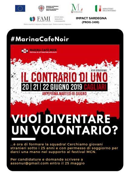 Marina Cafe Noir cerca volontari
